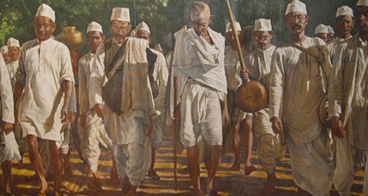 Marcha do Sal, Índia 1930