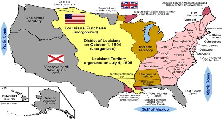 Compra da Louisiana em 1804