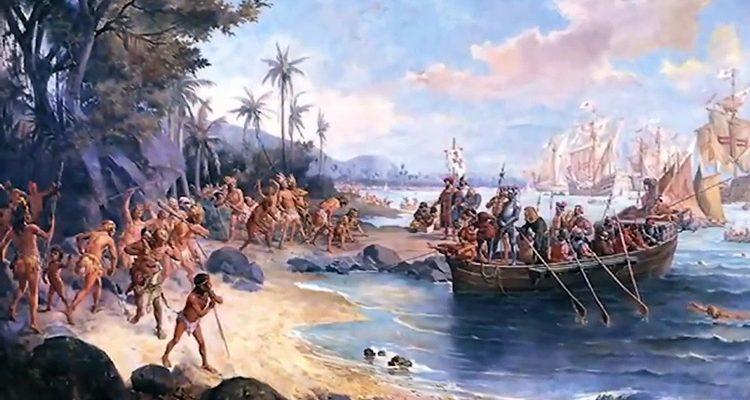 Cabral chega ao Brasil