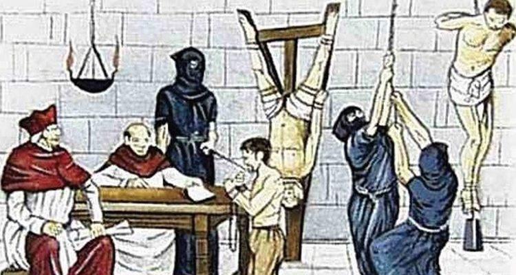 A Inquisição aceitava a tortura