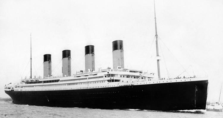 O impressionante Titanic